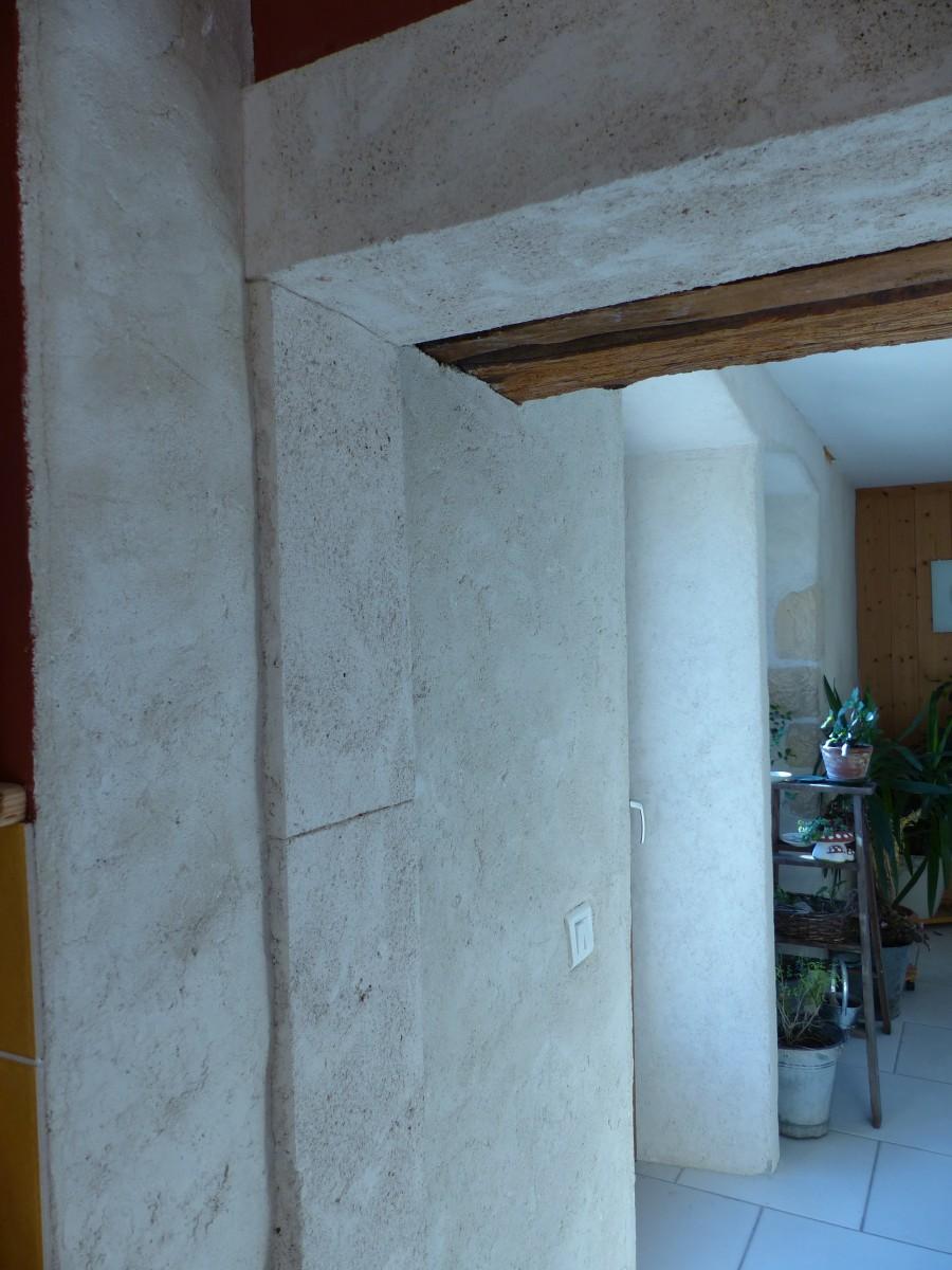 Enduit imitation pierre exterieur imitation bardage bois for Enduire un mur en pierre exterieur